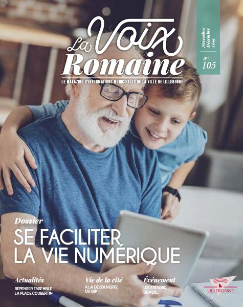 La Voix romaine numéro 105 - novembre / décembre 2019 - Lillebonne